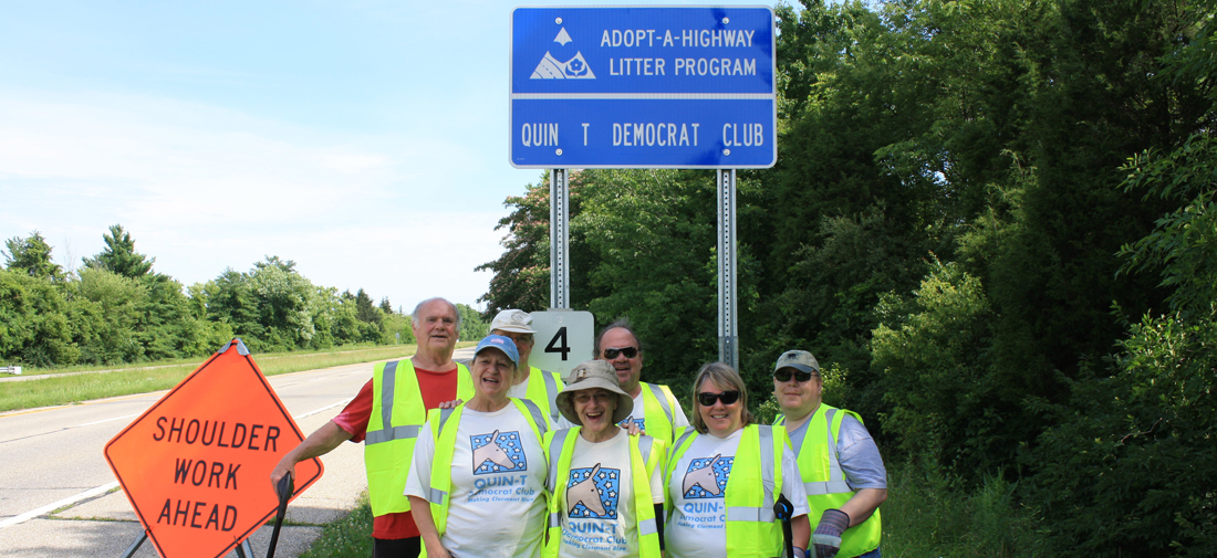 Quin-T Adopt a Highway